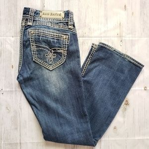 Rock Revival Liz Easy Boot Jeans size 27